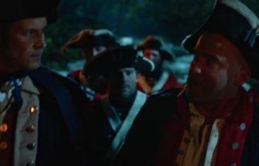 Lot S02E11, legend of tomorrow, George washington in amerian's history
