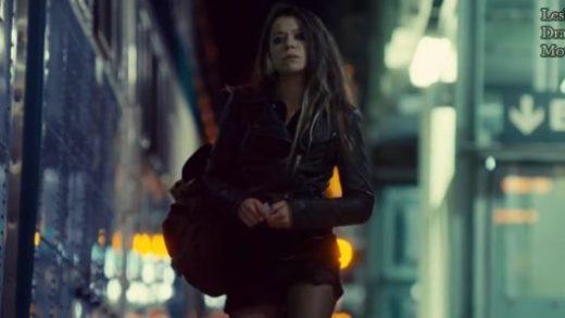 Orphan Black S01E01, the girl, black jacket, blond girl